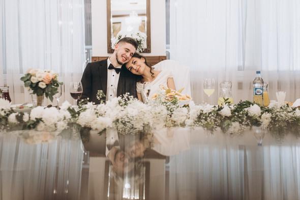 Первый поцелуй на венчании - фото №106