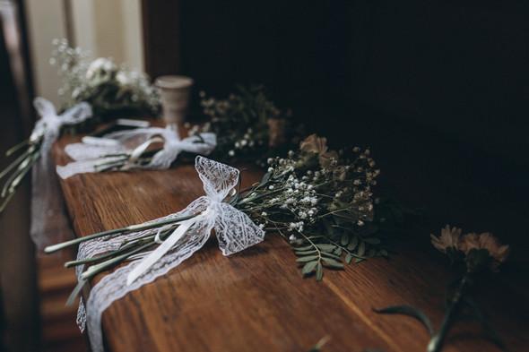 Первый поцелуй на венчании - фото №19