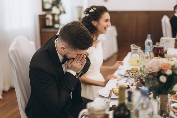 Первый поцелуй на венчании - фото №101
