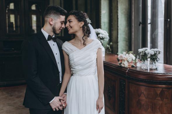 Первый поцелуй на венчании - фото №67