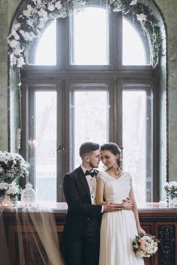 Первый поцелуй на венчании - фото №70