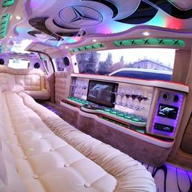 029 Лимузин Mercedes W221 S63 белый - авто на свадьбу в Киеве - портфолио 6