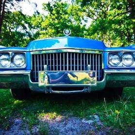 192 Ретро автомобиль Cadillac Eldorado голубой - авто на свадьбу в Киеве - портфолио 4