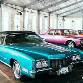 192 Ретро автомобиль Cadillac Eldorado голубой - авто на свадьбу в Киеве - портфолио 6