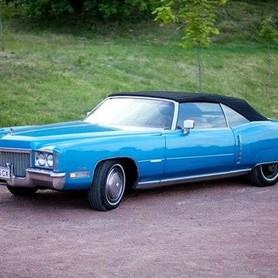 192 Ретро автомобиль Cadillac Eldorado голубой - авто на свадьбу в Киеве - портфолио 5