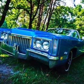 192 Ретро автомобиль Cadillac Eldorado голубой - авто на свадьбу в Киеве - портфолио 2