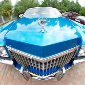 192 Ретро автомобиль Cadillac Eldorado голубой - авто на свадьбу в Киеве - портфолио 3