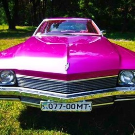 193 Ретро автомобиль Buick Le sabre розовый - авто на свадьбу в Киеве - портфолио 3