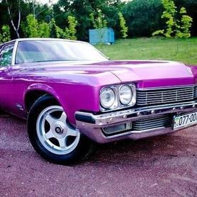 193 Ретро автомобиль Buick Le sabre розовый - авто на свадьбу в Киеве - портфолио 1