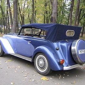 198 Ретро автомобиль Opel Olympia - авто на свадьбу в Киеве - портфолио 4