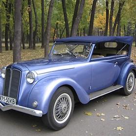 198 Ретро автомобиль Opel Olympia - авто на свадьбу в Киеве - портфолио 3