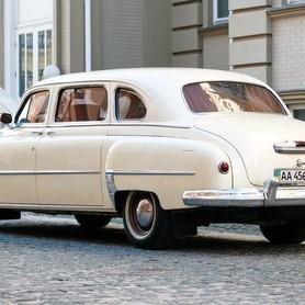 200 Ретро автомобиль ZIM GAZ-12 NEW - авто на свадьбу в Киеве - портфолио 6