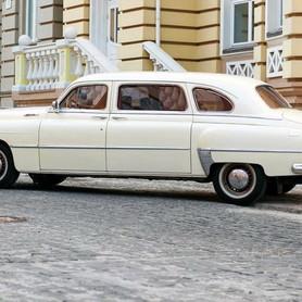 200 Ретро автомобиль ZIM GAZ-12 NEW - авто на свадьбу в Киеве - портфолио 3