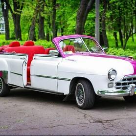 203 Ретро автомобиль ZIM GAZ-12 cabrio - авто на свадьбу в Киеве - портфолио 2