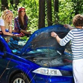 227 Кабриолет Renault Megane синий - авто на свадьбу в Киеве - портфолио 6