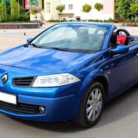 227 Кабриолет Renault Megane синий - авто на свадьбу в Киеве - портфолио 1