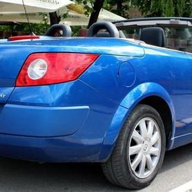 227 Кабриолет Renault Megane синий - авто на свадьбу в Киеве - портфолио 2