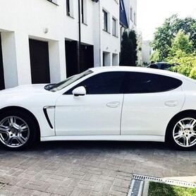 160 Porsche Panamera белая аренда - авто на свадьбу в Киеве - портфолио 3