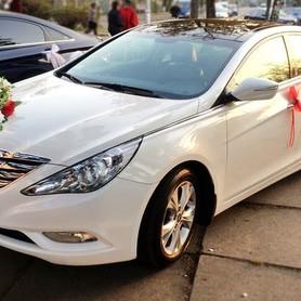 165 Hyundai Sonata белая 2013 - авто на свадьбу в Киеве - портфолио 2