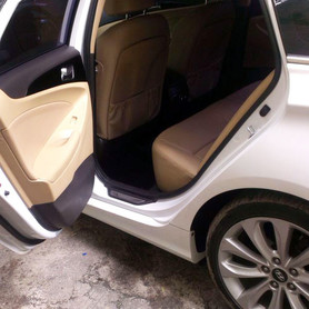 165 Hyundai Sonata белая 2013 - авто на свадьбу в Киеве - портфолио 6