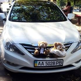 165 Hyundai Sonata белая 2013 - авто на свадьбу в Киеве - портфолио 5