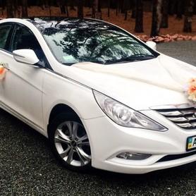 165 Hyundai Sonata белая 2013 - авто на свадьбу в Киеве - портфолио 4