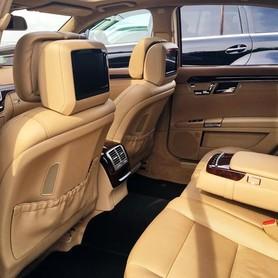 089 Mercedes W221 S500 original restyle черный - авто на свадьбу в Киеве - портфолио 4