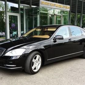 089 Mercedes W221 S500 original restyle черный - авто на свадьбу в Киеве - портфолио 1