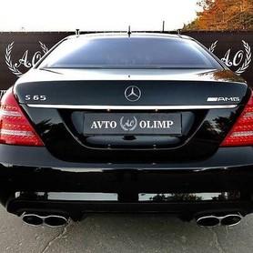 090 Mercedes W221 S65L AMG черный - авто на свадьбу в Киеве - портфолио 3
