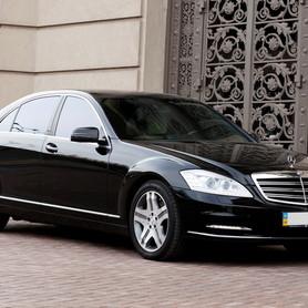 092 Vip-авто Mercedes W221 S500L black - авто на свадьбу в Киеве - портфолио 1