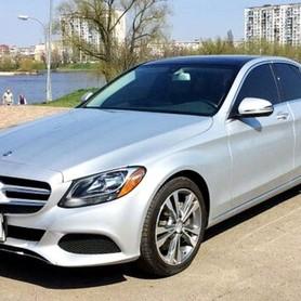 109 Mercedes С300 серебристый - авто на свадьбу в Киеве - портфолио 1