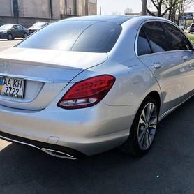 109 Mercedes С300 серебристый - авто на свадьбу в Киеве - портфолио 4