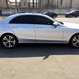 109 Mercedes С300 серебристый - авто на свадьбу в Киеве - портфолио 3