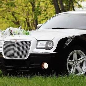 125 Chrysler 300C черно-белый - авто на свадьбу в Киеве - портфолио 1