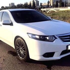 146 Honda Accord белая - авто на свадьбу в Киеве - портфолио 1
