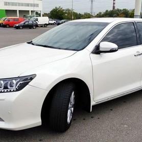 152 Toyota Camry V50 белая - авто на свадьбу в Киеве - портфолио 1