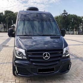 278 Микроавтобус Mercedes Sprinter черный VIP - авто на свадьбу в Киеве - портфолио 2