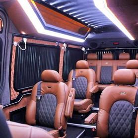 278 Микроавтобус Mercedes Sprinter черный VIP - авто на свадьбу в Киеве - портфолио 6