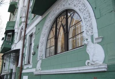 Дом Ягимовского (Дом с котами) - место для фотосессии в Киеве - портфолио 4