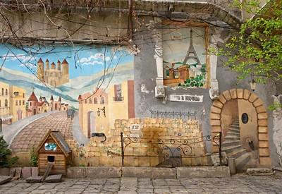 Дворик искусств («Окно в Европу») - место для фотосессии в Одессе - портфолио 4