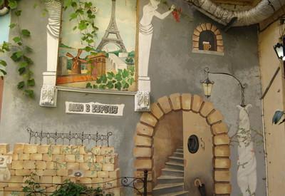Дворик искусств («Окно в Европу») - место для фотосессии в Одессе - портфолио 5