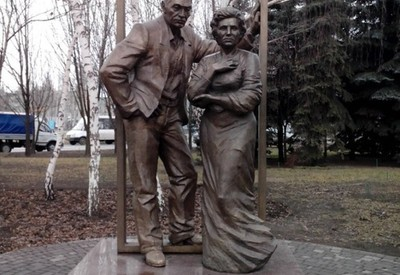 Памятник родителям - место для фотосессии в Кривом Роге - портфолио 5