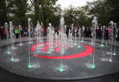 Светомузыкальный фонтан - место для фотосессии в Кривом Роге - портфолио 6