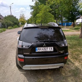 Mitsubishi Outlander XL - авто на свадьбу в Мариуполе - портфолио 5
