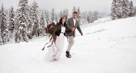 Скидка 33% на зимнюю свадьбу!