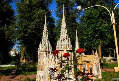 Парк «Украина в миниатюре» - место для фотосессии в Киеве - портфолио 6