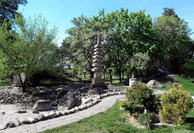 Парк Киото - место для фотосессии в Киеве - портфолио 2
