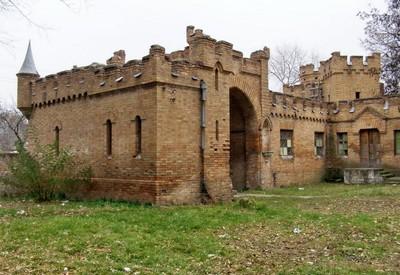 Замок-усадьба Попова - место для фотосессии в Запорожье - портфолио 6
