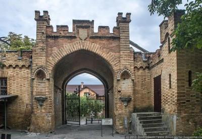 Замок-усадьба Попова - место для фотосессии в Запорожье - портфолио 5