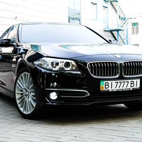 BMW 520d Luxury Line - авто на свадьбу в Полтаве - портфолио 2